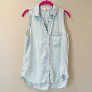 [Cloth&stone] Chambray Top